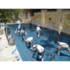 Pool plaster, tile, coping decking